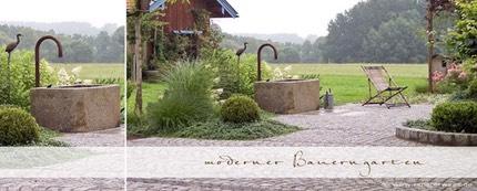 bauerngarten landhausgarten. Black Bedroom Furniture Sets. Home Design Ideas